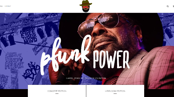 Pfunk Power Pins