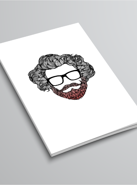 Custom hipster notecards for our friends at Capital Fringe